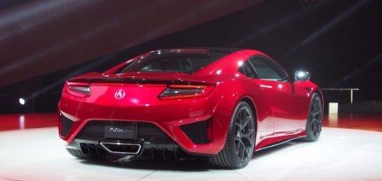 Суперкар Acura NSX получил награду за инновации