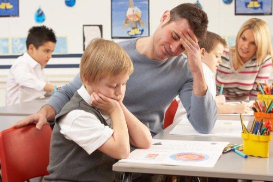 В плохой учебе детей виноваты родители