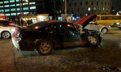 Массовое ДТП в Киеве: пострадали шесть человек