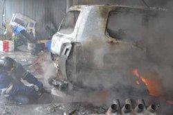 В Одессе горело СТО, есть пострадавшие