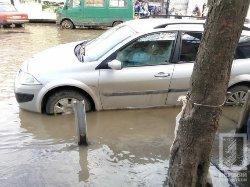 В Одесі практично повністю затопило