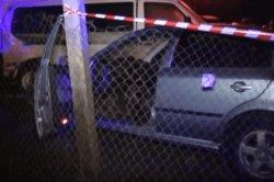 Погоня в Киеве: лихач на иномарке, «увиливая» от полицейских, влетел в автостоянку