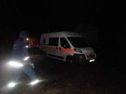 На Киевщине машина скорой помощи попала в аварию