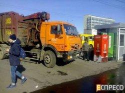 Киев: фура два раза переехала женщину