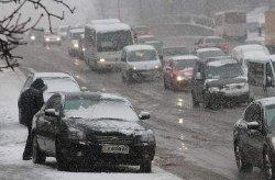 На выходные в Украине ожидаются снег и морозы