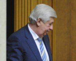 Рапорт Шокіна про відставку надійшов в АП