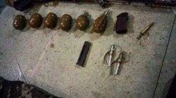 В Днепропетровске полицейские изъяли арсенал оружия и наркотиков