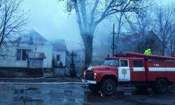 На Закарпатье горело здание суда