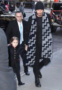 4-летняя дочь Виктории Бекхэм растет настоящей модницей