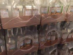 На Закарпатье правоохранители изъяли 2300 бутылок фальсифицированной водки