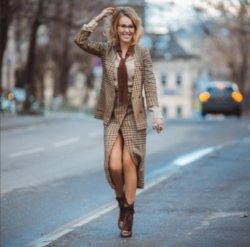 Ксения Собчак покорила поклонников стильным образом