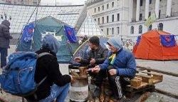 На Майдане собирают вече