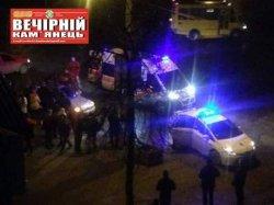 В Каменце-Подольском легковушка врезалась в маршрутку