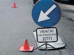 Киев: пьяный мужчина врезался в маршрутку