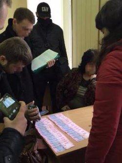 В киевском вузе попался на взятке преподаватель