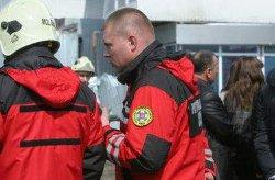 Обрушение дома в центре Киева: под завалами остаются люди