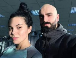 Тренер Насти Каменских устроил тренировку на улице