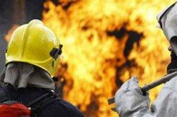 На Днепропетровщине загорелся завод