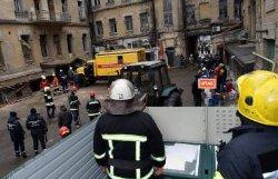 Обвал дома в Киеве: из-под обломков извлекли тело погибшего