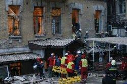 Обвал дома в центре Киева: число жертв увеличилось