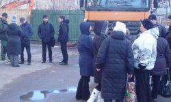 В Киеве избили митингующих