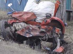 ДТП на Полтавщине: мотоцикл разбился вдребезги, убив двоих человек