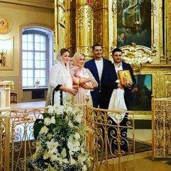 Стас Костюшкин крестил младшего сына (фото)