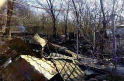 В Киеве сгорело кафе