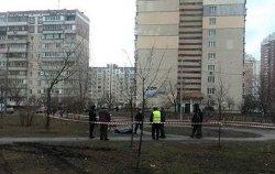 Сегодня в Киеве застрелился пенсионер у всех на виду