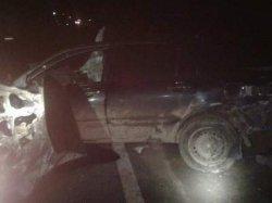 ДТП на трассе Киев-Чоп: столкнулись грузовик и две легковушки