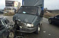ДТП в Днепропетровске: пострадали шесть человек, из них трое детей
