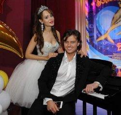 Невеста Прохора Шаляпина уже похвасталась свадебным платьем