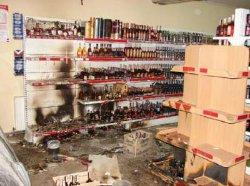 Взрыв в Сумах: в сгоревшем магазине нашли чеку от гранаты