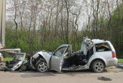 Жуткое ДТП на трассе «Киев-Чоп»: двое погибших