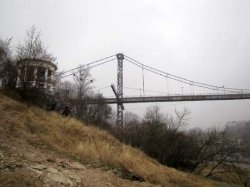 Житомир: молодой человек прыгнул с моста и погиб