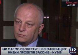 Кабмин Гройсмана отзовет почти 200 законопроектов, - Кубив
