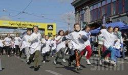 В центре Киева перекрывают движение
