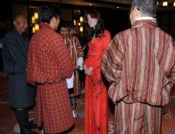 Кейт Миддлтон в Бутане поразила всех своим нарядом