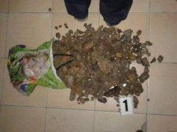 В Ровно изъят янтарь на полмиллиона гривен