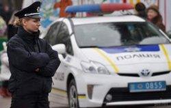 В Черкассах пьяный водитель протаранил полицейский автомобиль