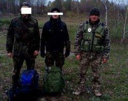 Пограничники задержали пятерых сталкеров недалеко от Чернобыля