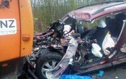Смертельное ДТП на Житомирщине: столкнулись КамАЗ и Subaru