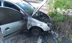 На Одесчине неизвестные сожгли две машины пограничников