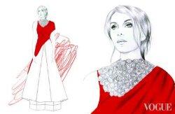 Дизайнеры представили эскизы платьев для образа Джамалы на Евровидении