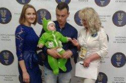 Житель Харькова стал самым молодым папой в Украине