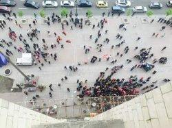 Киевские бизнесмены «штурмовали» здание КГГА