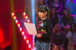 11-летняя дочь Зеленского пришла к папе на «Рассмеши комика»