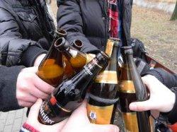 В Киеве будут жестче наказывать за пиво на улице