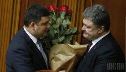 Порошенко отказался дарить цветы мужчинам
