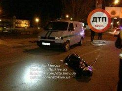 Смертельное ДТП в Киеве: иномарка сбила мужчину